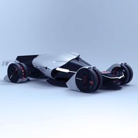 Tesla T1: El concepto de prototipo para Le Mans que funcionará con energía eólica