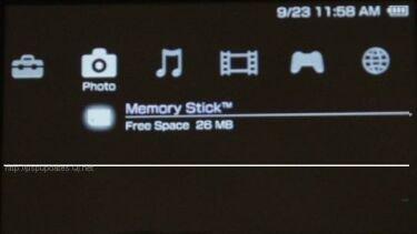 Firmware v2.01  para PSP