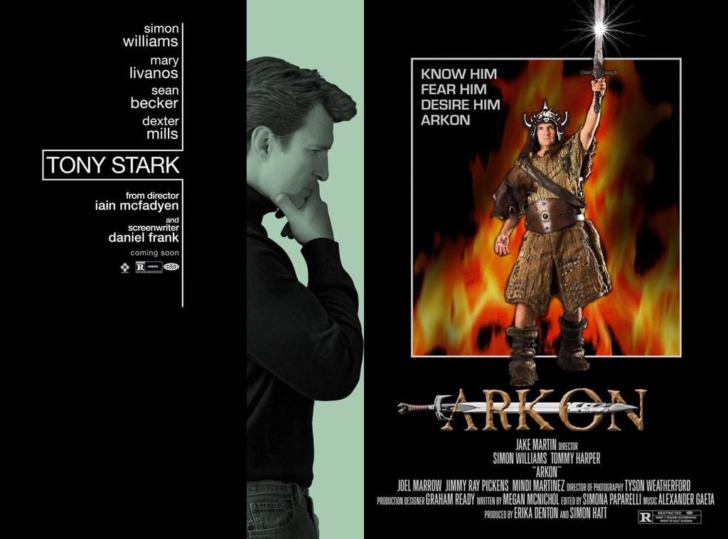 Tony Stark Arkon