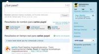 Las búsquedas en Twitter ya incorporan resultados con nombres de usuario
