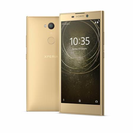 Sony Xperia L2: un gama de entrada con lector de huellas, cámara para selfies y sin ración de Oreo