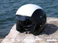 Diesel AGV Hi-Jack, prueba del casco de piloto de helicóptero para moto