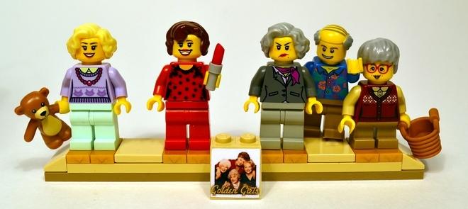 Foto de La versión LEGO de 'Las chicas de oro' (1/19)