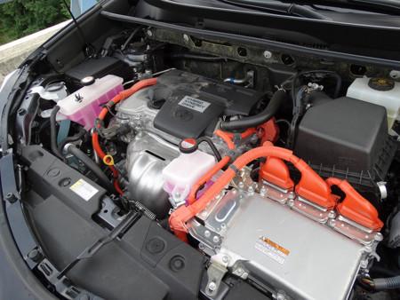 Prueba Toyota Rav4 Hybrid Motor