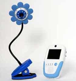 Vigilabebés con cámara: pon una flor en su cuna