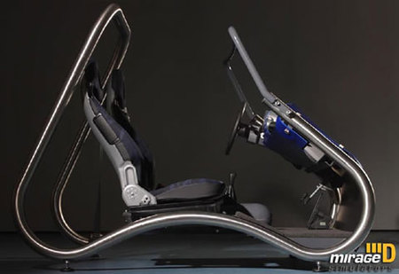 DaVinci Driving Simulator Rig