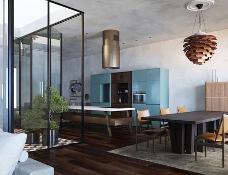Puertas abiertas; estilo ecléctico y lujo contenido en esta casa de Almería