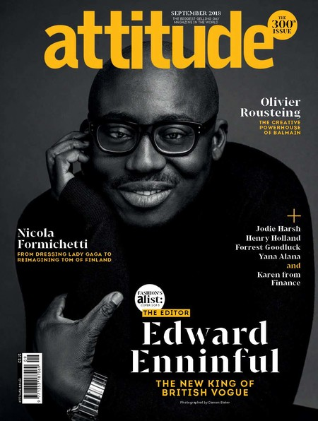 Edward Enninful Cover Editorial Attitude Magazine 01