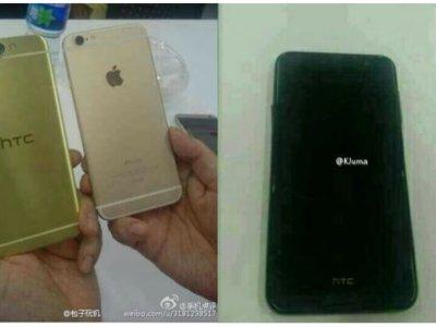 HTC Aero, unas imágenes filtradas muestran su parecido razonable con el iPhone 6