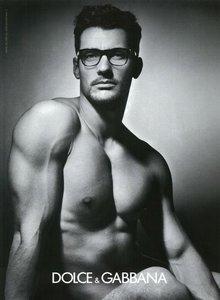 El 'gafapasta' más sexy-buenorro se llama David de apellido Gandy
