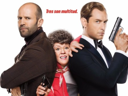 Taquilla USA | Melissa McCarthy vuelve a triunfar con una comedia de espías