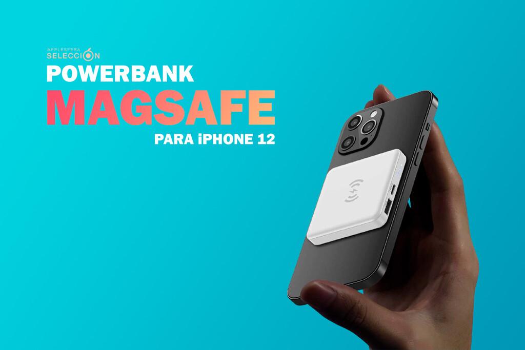 Alternativas a la Apple Battery Pack MagSafe: cuatro PowerBanks con carga inalámbrica magnética para iPhone 12 mucho más baratas