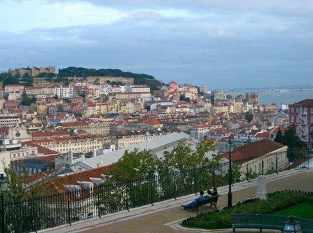 Descubriendo Lisboa: el Mirador de San Pedro de Alcántara