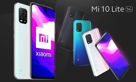 Entra en la era 5G por poco dinero y con auriculares true wireless de regalo: MediaMarkt te deja el Xiaomi Mi 10 Lite de 128 GB por sólo 269 euros