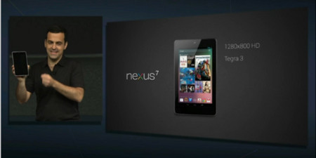 Google Nexus, el tablet de Google nacido para competir con el Kindle Fire