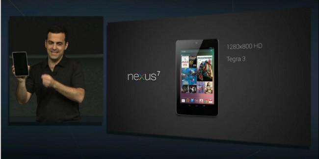 Google Nexus, el tablet de Google nacido para competir con el Kinddle Fire