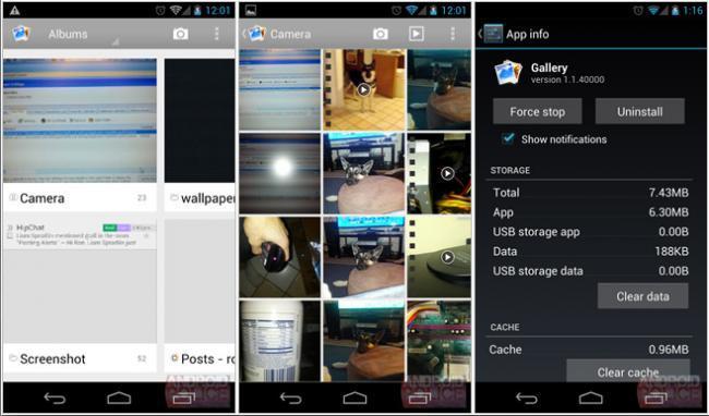 Galeria Android 4.2