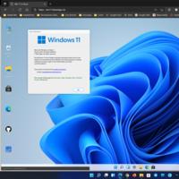 """Este desarrollo """"simula"""" un Windows 11 dentro del navegador web para probar algunas funciones sin necesidad de instalación"""