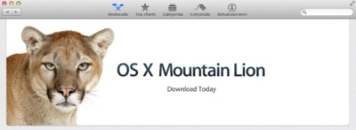 OS X Mountain Lion, ¡Ya disponible para su descarga en la Mac App Store!