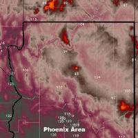 Hace tanto calor que los mapas del tiempo se están quedando sin colores para las temperaturas extremas