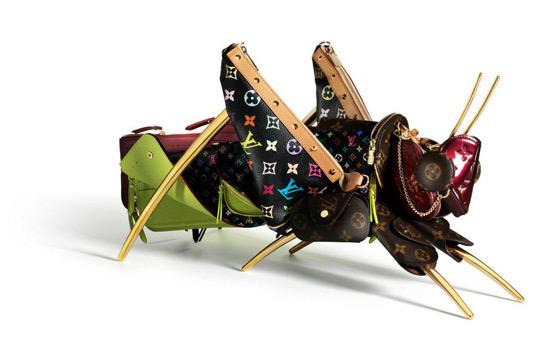 Foto de 'Maroquinaris Zoolofgicae', el mundo animal de la mano de Louis Vuitton y Billie Achilleos (6/12)