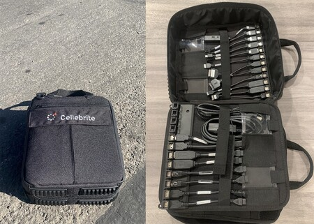 Cellebrite Case And Cables