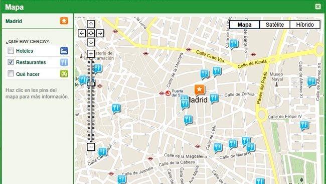Comida e Internet: Mapa restaurantes - TripAdvisor-
