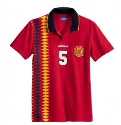 Las camisetas de fútbol retro de Adidas Originals 2012