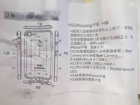 Las posibles instrucciones de montaje del iPhone 7 muestran que no habrá segundo altavoz a pesar de los orificios
