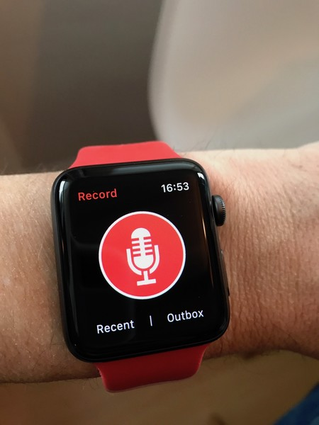 Just Press Record, una inesperada joya de la productividad en Apple Watch y iPhone