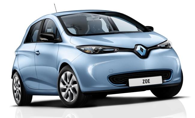 Renault ZOE azul hielo