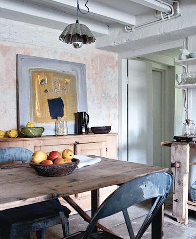 Una casa rústica llena de detalles