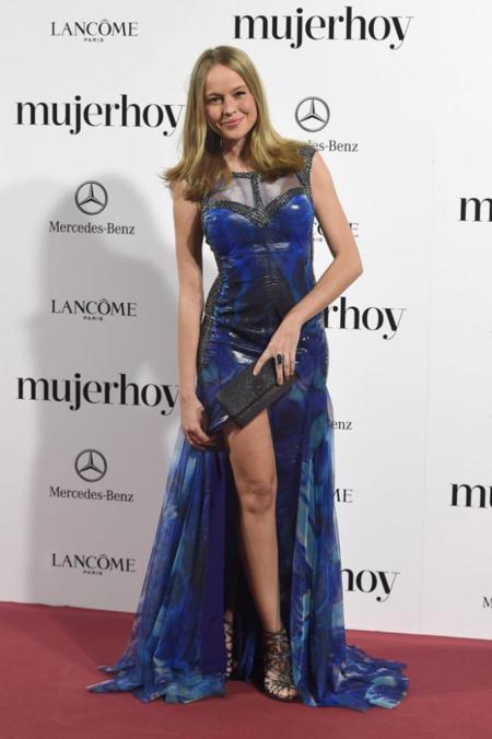 Esmeralda Moya en los Premios Mujer Hoy 2014