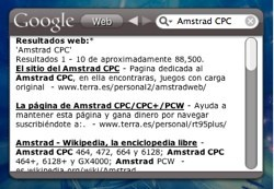 Gwidget: Para consultas rápidas en Google sin salir de Dashboard