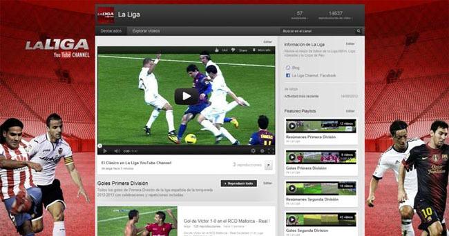 La Liga en YouTube