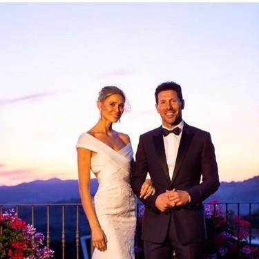 Carla Pereyra y Simeone se han dado el sí quiero y así es el vestido de la novia