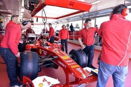 Esteban Ocon impresionó en Fiorano con el Ferrari F10