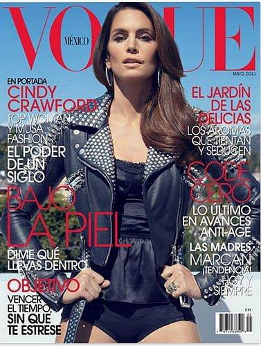 Cindy Crawford, ahora en Vogue México