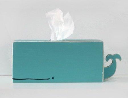 Dispensador de pañuelos de papel para twitteros