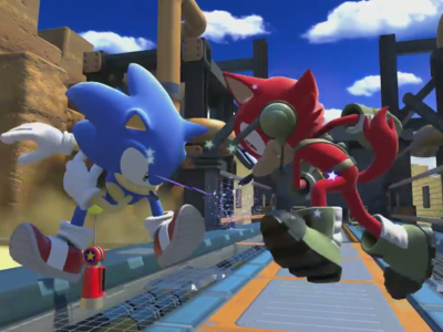 Sonic y el Héroe personalizable reparten estopa a velocidad supersónica en el nuevo tráiler de Sonic Forces