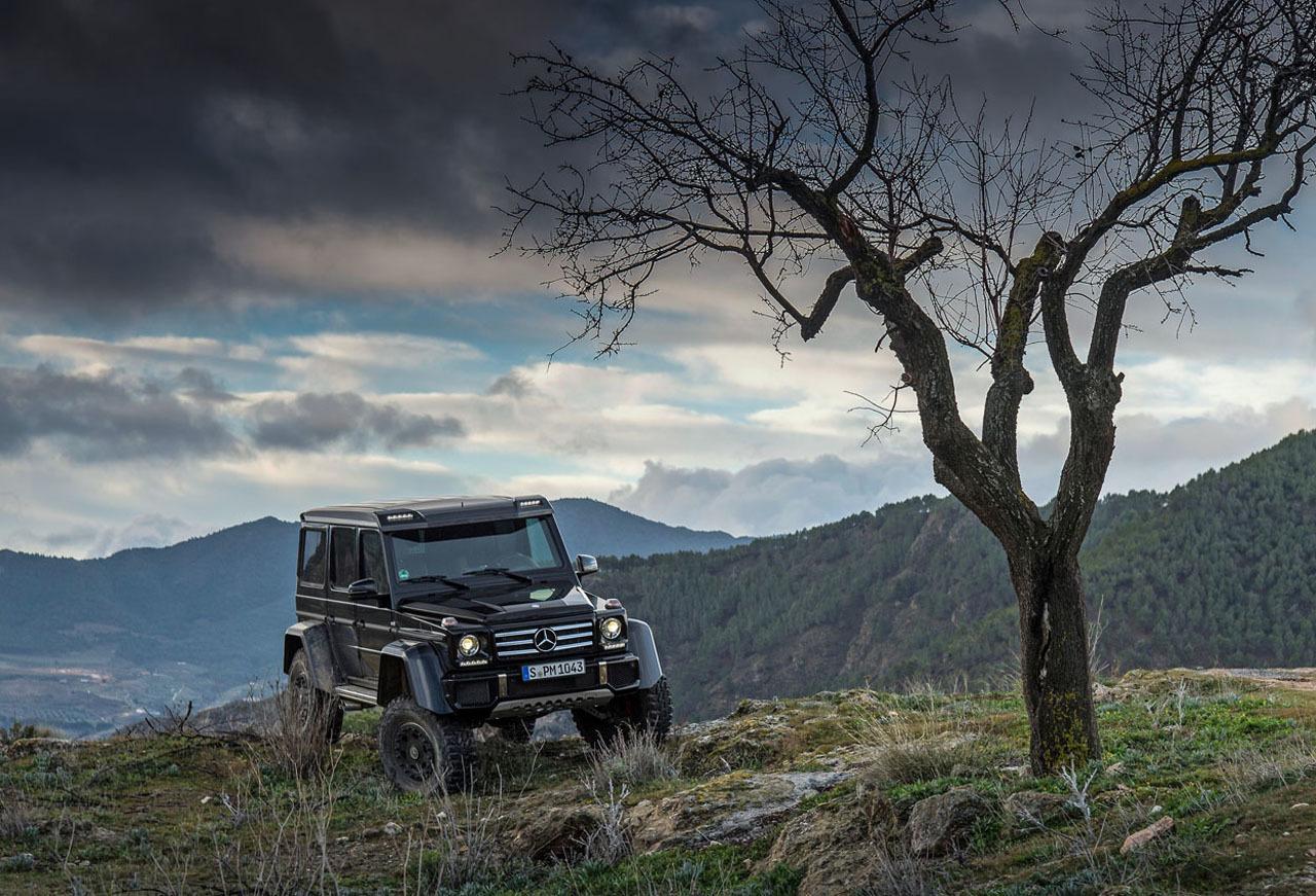 Foto de Mercedes-Benz G 500 4x4², toma de contacto (21/127)