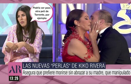 "'El programa de Ana Rosa': Isa Pantoja responde sin tapujos al famoso ""prefiero morir sin abrazar a mi madre"" de su hermano Kiko Rivera"