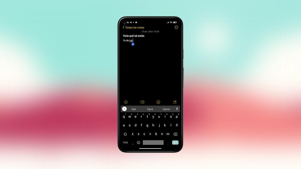 Esta apps para Android™ es un perfecto clon de Notas de Apple