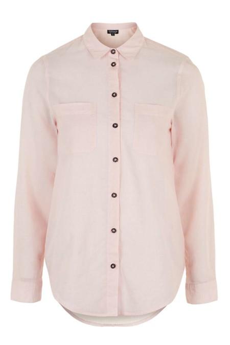 Camisa Rosa Topshop