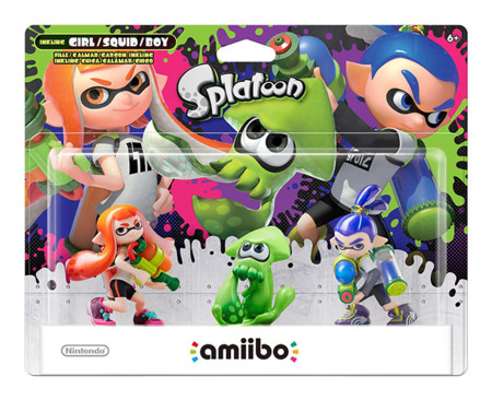 Splatoon Amiibo 3 Pack