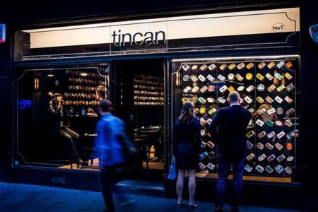 Tincan, un restaurante que sirve la mejor comida enlatada