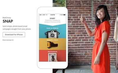 Snap, la aplicación de MailChimp para crear newsletter desde el teléfono en dos minutos