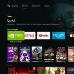 La Nvidia Shield actualiza la interfaz: nuevas opciones y pestañas con una clara influencia de Google TV