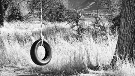 Que hacer con una cuerda, una moto y un árbol