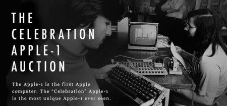 ¿Quieres la edición especial de un Apple-I? Pues prepara un millón de dólares y tus ganas de pujar